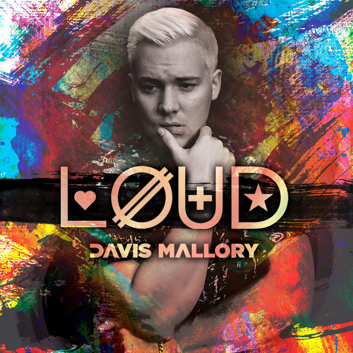 Davis Mallory - LOUD Single Art